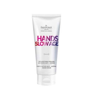 Farmona - hands slow age trójaktywny peeling do dłoni anti - ageing 200ml