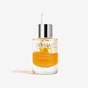 Semilac care oliwka do skórek i paznokci flower essence orange strength 10ml