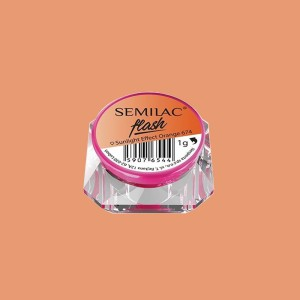 Semilac flash sunlight effect orange 674
