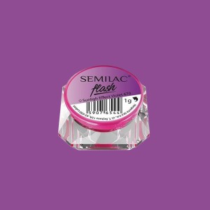 Semilac flash sunlight effect violet 670