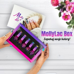 Zestaw 5 hybryd Molly Lac 5ml box gratis
