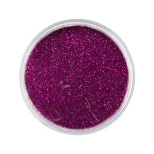 Pyłek do paznokci Sequin Quartz Effect fuchsia Nr 19