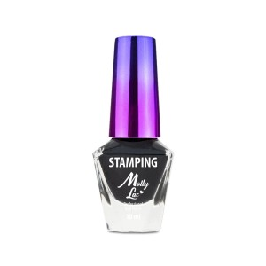 Lakier do stempli i stampingu Molly Lac 10 ml Czarny Nr 2