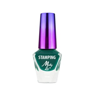 Lakier do stempli i stampingu Molly Lac 10 ml Zielony Nr 8