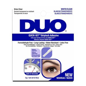 Klej do rzęs Ardell duo quick set White/Clear 5g