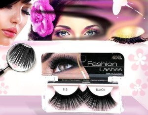 Ardell - fashion lashes - rzęsy w pasku - 115  black