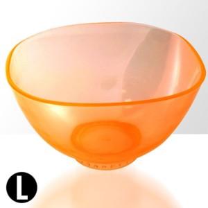 5fe490194b8466 Miseczka silikonowa do alg - pomarańczowa - rozmiar: l