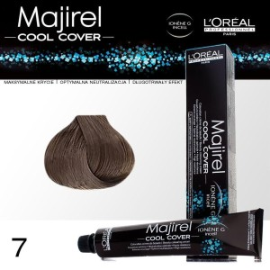 L oreal - majirel - cool cover - 7 - blond - 50ml