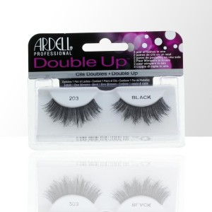 Ardell - double up rzęsy w pasku - 203 black