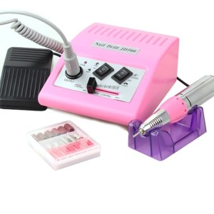 Frezarka do manicure i pedicure JD500 różowa 35Watt